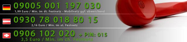 Nummern für die Handy Erotik